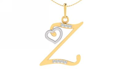 THE Z ALPHABET PENDANT