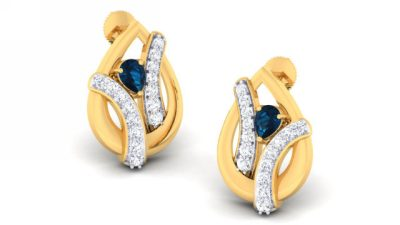 THE BLUE NAAZ EARRING