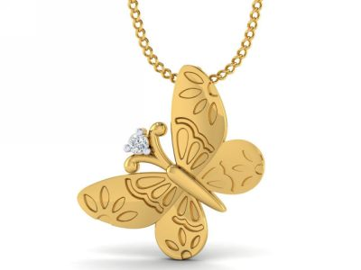 THE BUTTERFLY EFFECT PENDANT