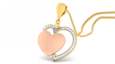 THE ROSEGOLD HEART PENDANT