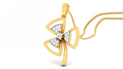 THE BEAUTIFUL FLOWER PENDANT