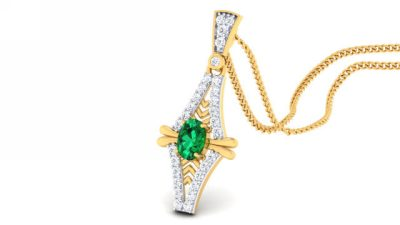 THE BEAUTUFUL EMERALD PENDANT