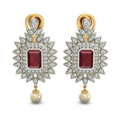 THE RABELLO RUBY EARRING
