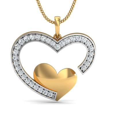 THE SARAH HEART PENDANT