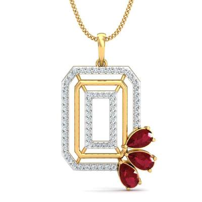 THE RHODA DIAMOND PENDANT
