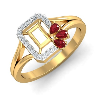 THE MILEY RUBY RING