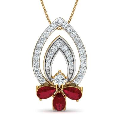 THE CARINA RED PENDANT