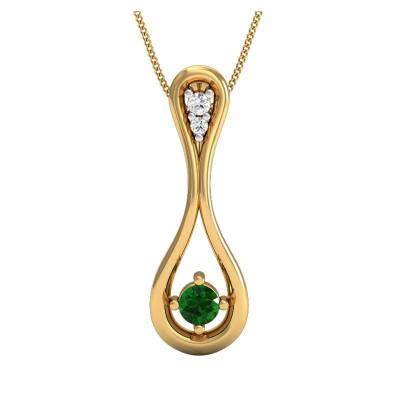 THE EMERAL PHOEBE PENDANT