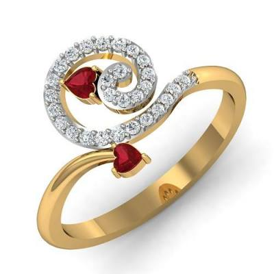THE RUBY HEART RING